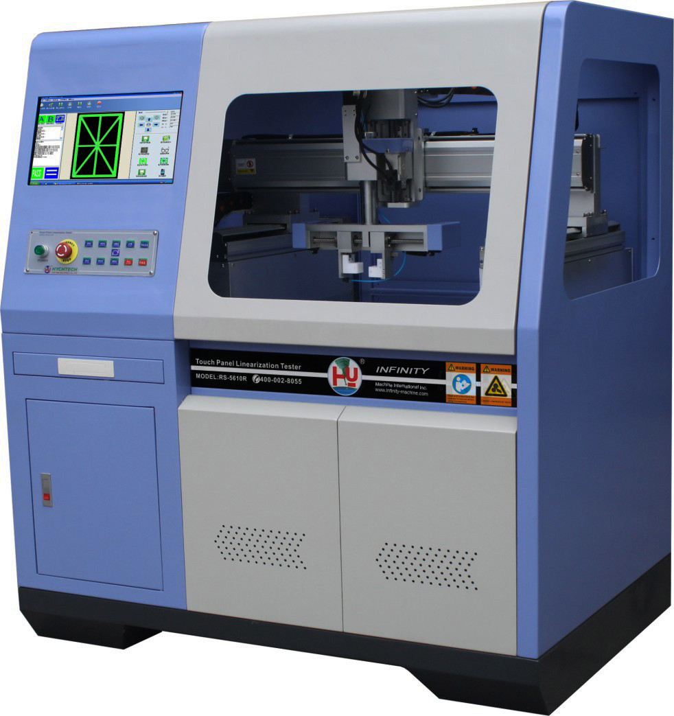 100mm / 170mm Infrared Touch Panel Tester 6 Axes With High Accuracy