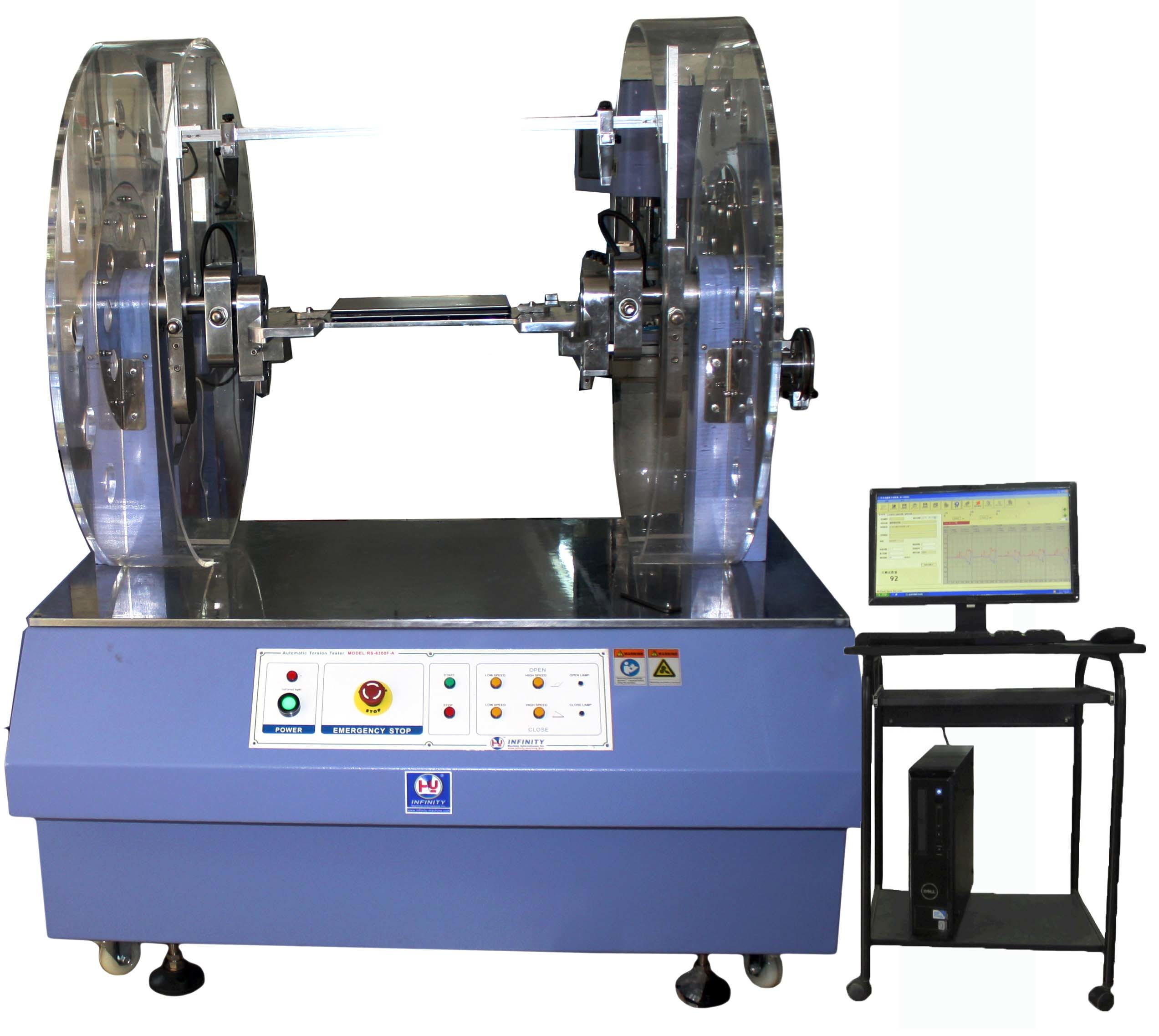 Lab Testing Machine 360° Laptop Hinge Torque Testing Equipment Notebook Hinge Automatic Twist Testing Machine